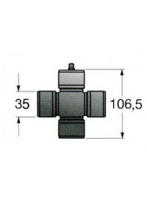 Cruceta Bondioli T8 35x106.5